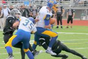 (PRESS & SUN BULLETIN) M-E's BALMER PROVES  A WORTHY HEIR APPARENT AT QB
